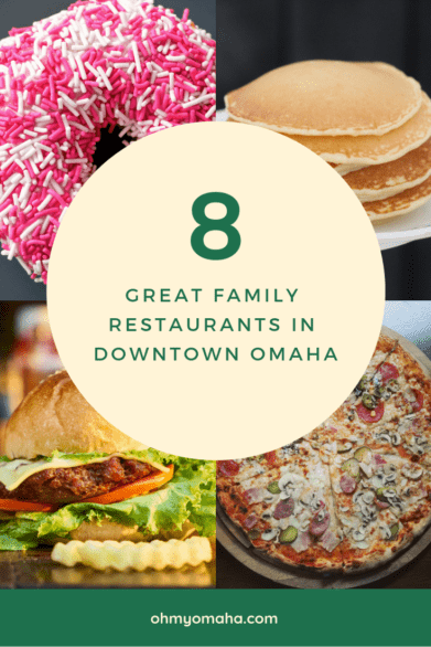 Recommended restaurants and donut shops in downtown Omaha #familyfriendly #OldMarket #Nebraska