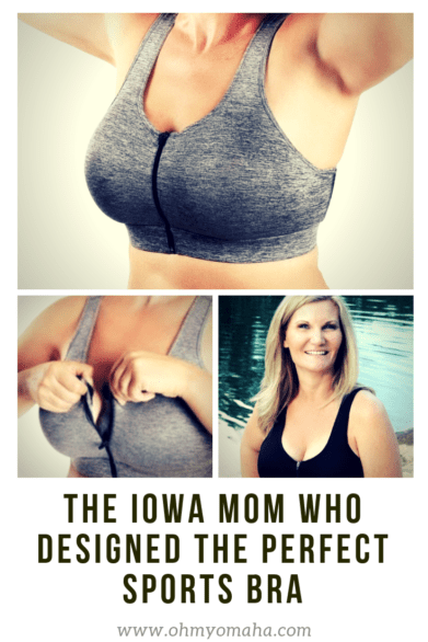 H2W Apparel is a sports apparel line designed for women of all sizes designed by Tamara Brunow. The comfy sports bra zips in the front and has an H-back design. #partner #bra #sportsbra