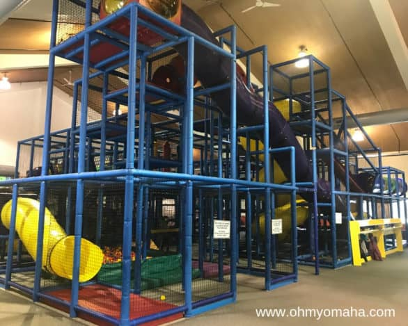 The best place to go with young kids at Mahoney State Park: The indoor activity center.