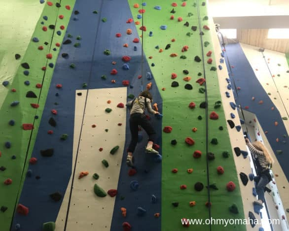 Things to do indoors at Mahoney State Park - Indoor wall climbing