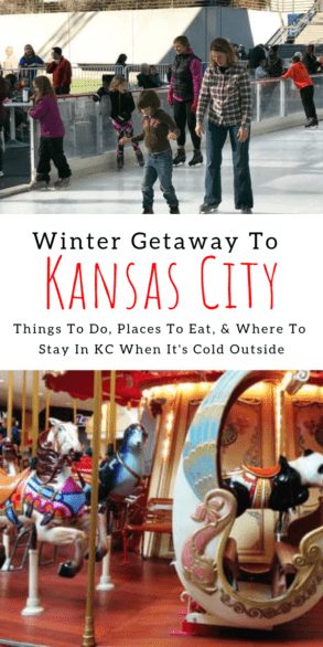Fun things to do with kids in the winter in Kansas City - Includes tips on where to eat and where to stay for weekend getaways #familytravel #KC  #Missouri #Kansas #OverlandPark
