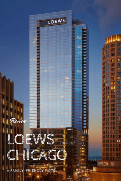Where to stay in downtown Chicago: A review of Loews Chicago #familytravel #Illinois #hosted