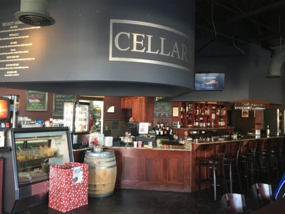 Interior photo of Cellar 19 Wine & Deli in Council Bluffs, Iowa. It's a participating restaurant in the Libate app.