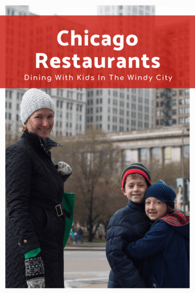 Great restaurants to try with kids when visiting Chicago - Includes donuts, fine dining, and traditional Chicago fare like deep dish pizza #familytravel #Chicago #Illinois