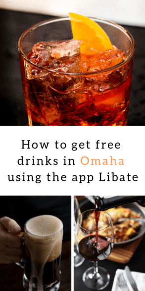 Learn how to use the app Libate which allows users to get free drinks at restaurants and bars in Omaha & Council Bluffs. #Libate #partner #Omaha #Nebraska