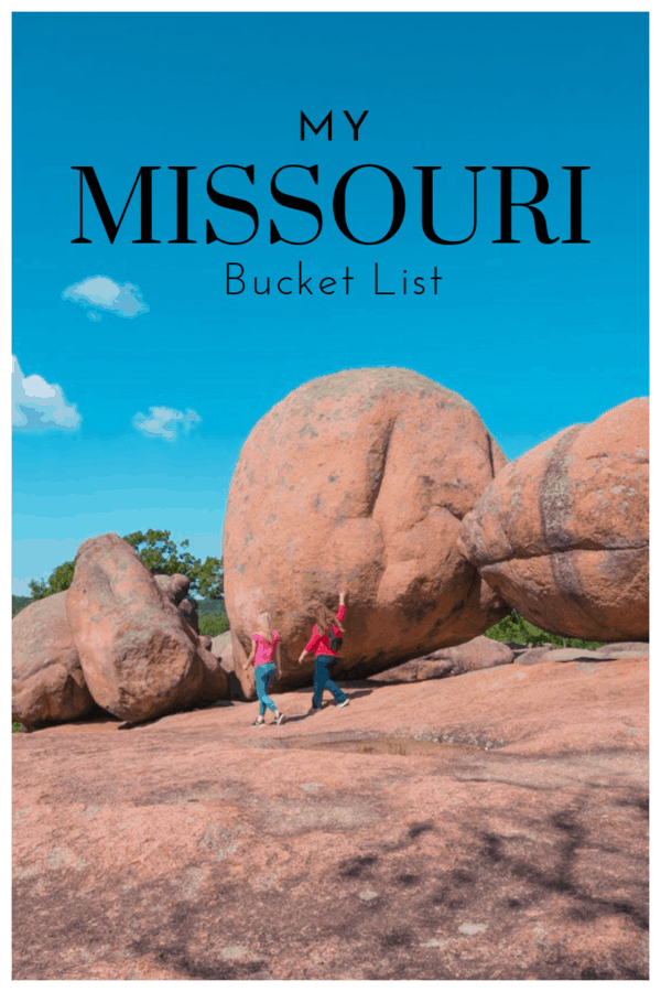 Huge list of things to do in Missouri including obscure festivals, adventures and outdoor pursuits to add to any bucket list. #bucketlist #Missouri #USA