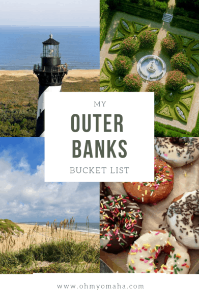 Outer Banks Bucket List - A list of amazing things to see and do with kids in North Carolina's famous Outer Banks #bucketlist #familytravel #OBX