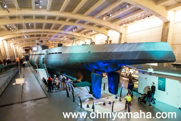Exterior of the U-505 Submarine at the Museum of Science & Industry in Chicago