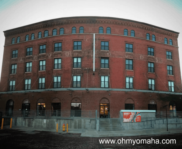 Exterior of Bemis Center for Contemporary Arts in downtown Omaha