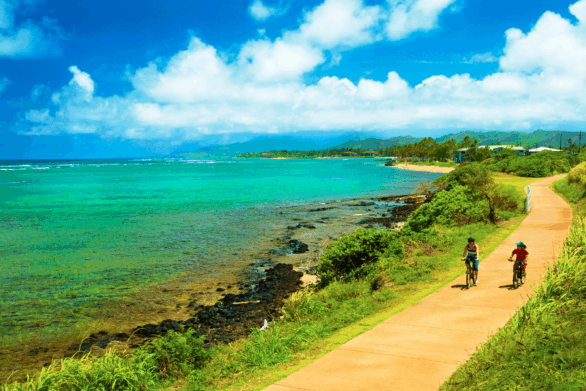 Kauai Coastal Bike Path