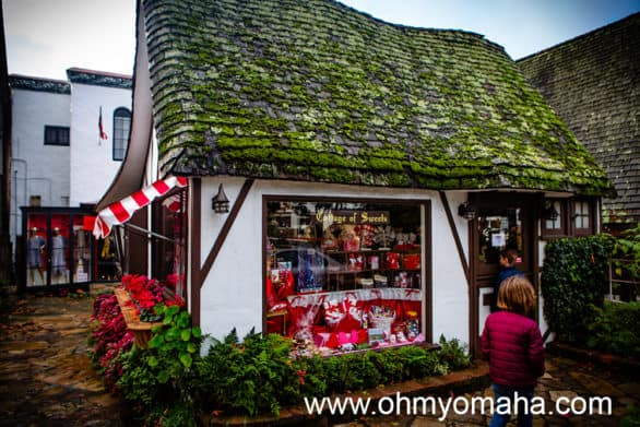 Exterior of the Cottage of Candy in Carmel-by-the-Sea California