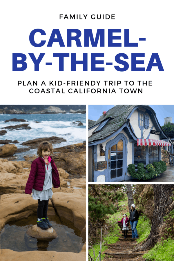 Guide to planning a great vacation to Carmel-by-the-Sea with your family. Tips on where to eat in Carmel | Where to hike near Carmel | What kid-friendly attractions are in Carmel | Where to stay in Carmel with kids  #California #Carmel #familytravel