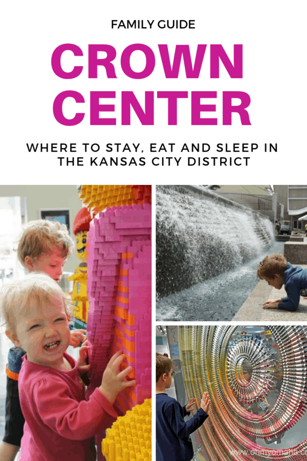 Kid-friendly guide to Crown Center in Kansas City - Restaurants, attractions and other things to do and see #familytravel #Missouri #KC