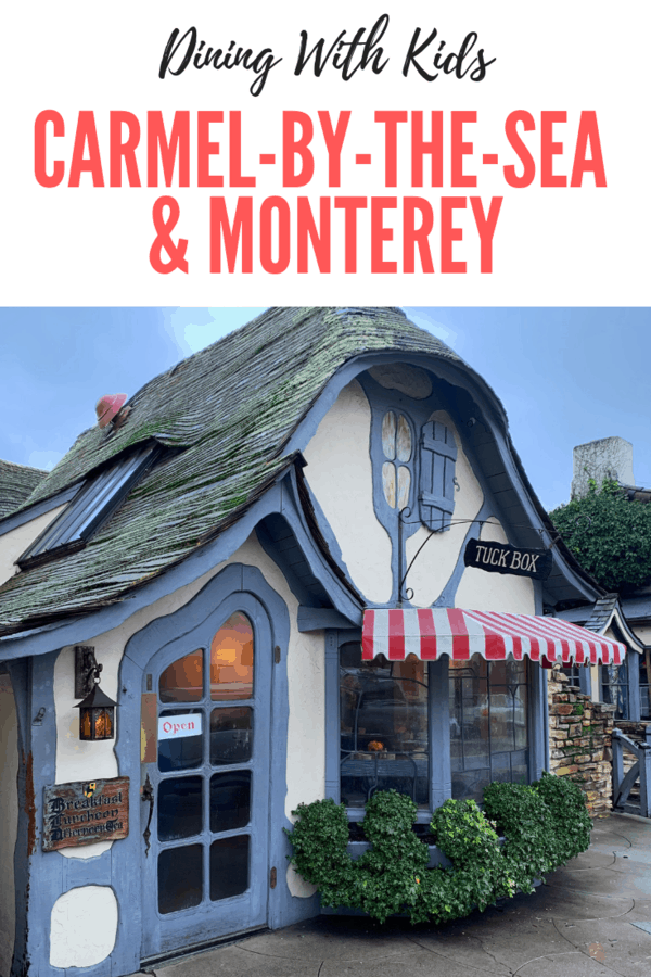 Restaurants that are family-friendly in Carmel-by-the-Sea & Monterey #California #USA #familytravel