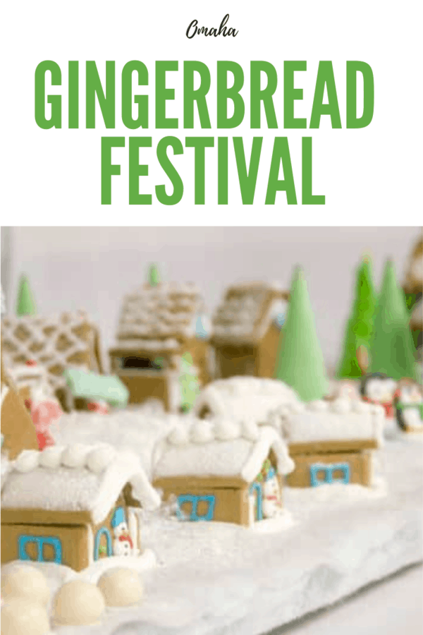 This is a great, free annual event each Christmas in Omaha! Get details on the Gingerbread Festival at the Historic Winter Quarters in north Omaha. #Omaha #Nebraska #Christmas #holiday
