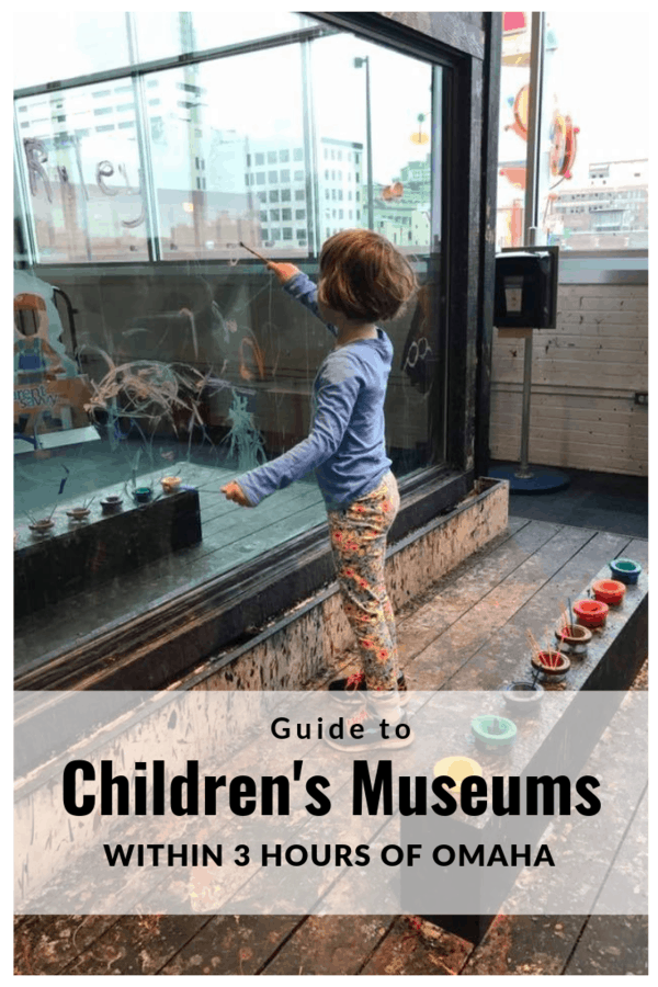 Kid-friendly museums near Omaha, including children's museums & science centers. Learn about museums in Iowa, Missouri, Kansas & South Dakota that are 3 hours or less from Omaha! #familytravel #Nebraska