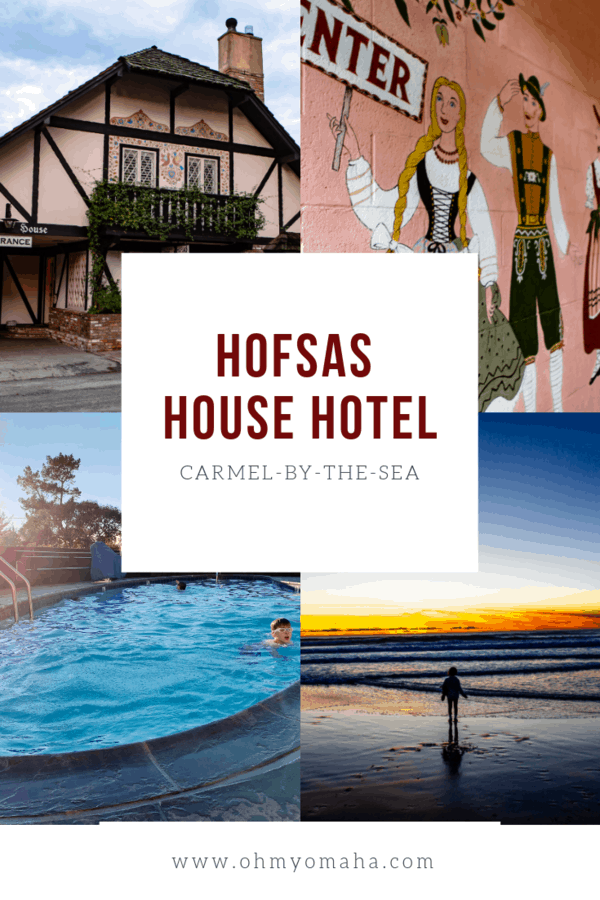 Looking for a hotel in Carmel-by-the-Sea that's good for kids? Check out this review of the family-friendly Hofsas House Hotel. #California #Carmel #familytravel