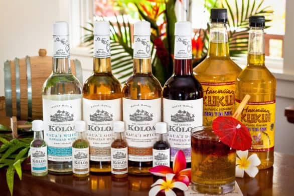 Rum from the Koloa Rum Company in Hawaii