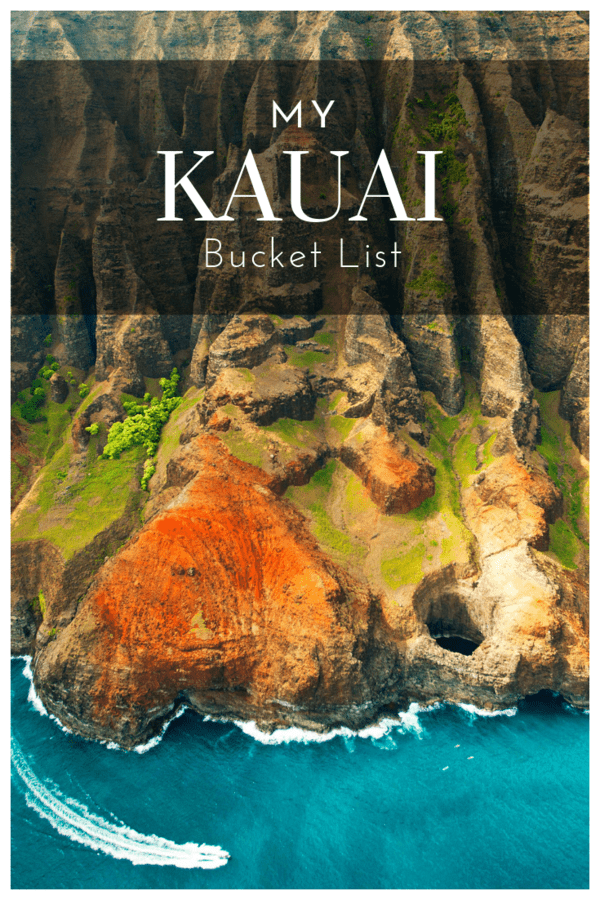 Wish list of things to do in Kauai, Hawaii - From mountain tubing to rum tastings and scenic hikes #Hawaii #USA