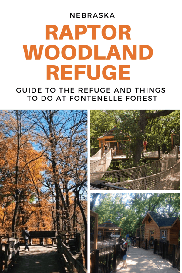 Guide to the Raptor Woodland Refuge at Fontenelle Forest in eastern Nebraska #Bellevue #Nebraska #forest