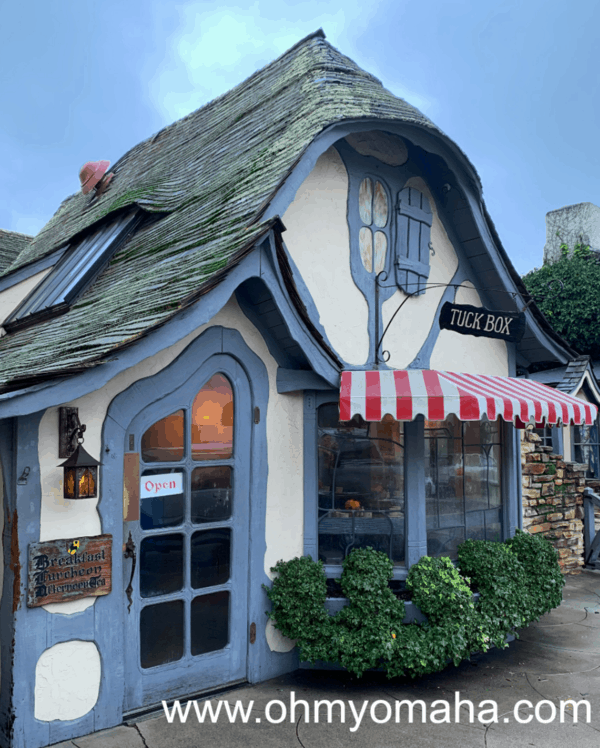 Exterior of the Tuck Box in Carmel-by-the-Sea