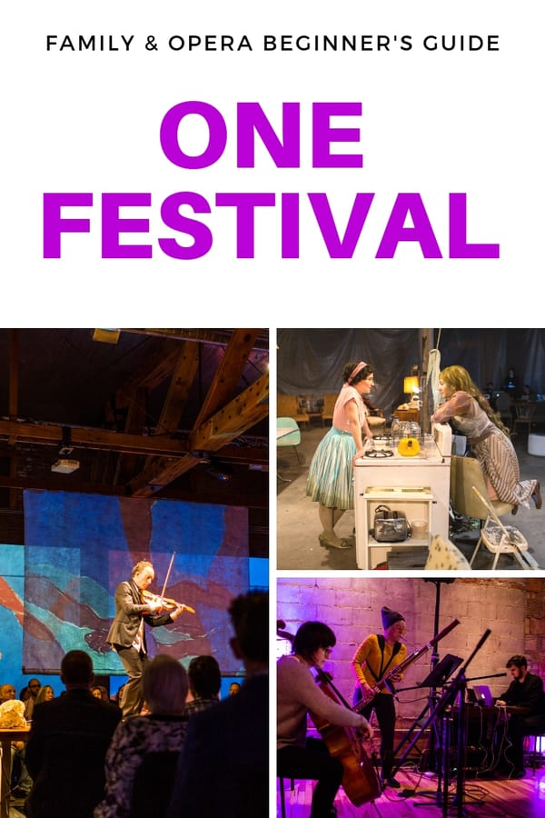 What you need to know about the ONE Festival in Omaha if you're new to opera - What's kid-friendly, what's accessible to opera newbies and how to get tickets #Omaha #Nebraska #opera