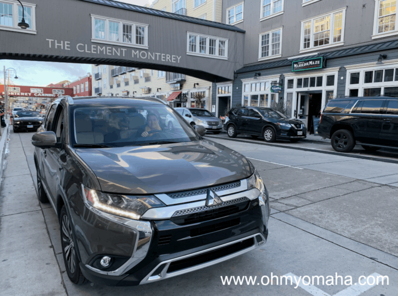 Mitsubishi Outlander parked on Cannery Row in Monterey, California