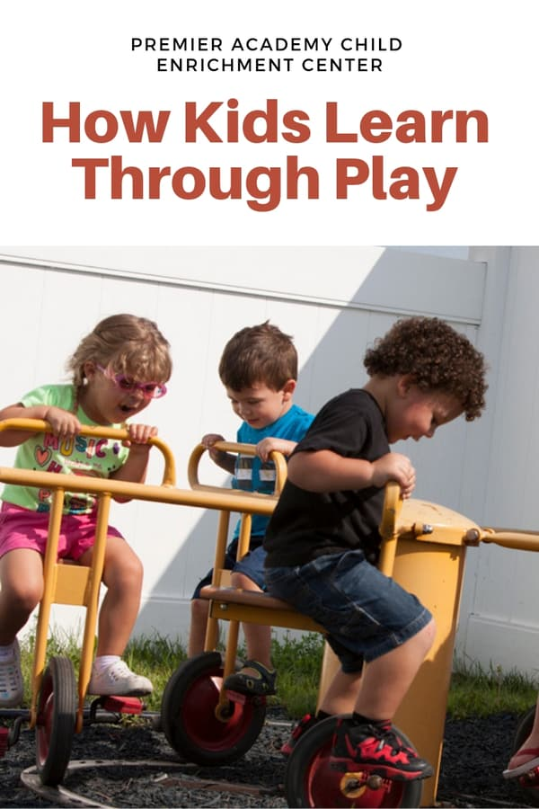 Find out how childcare centers incorporate play and state early education guidelines into each day | This Omaha childcare center has it figured out! #premieracademy #partner #Omaha