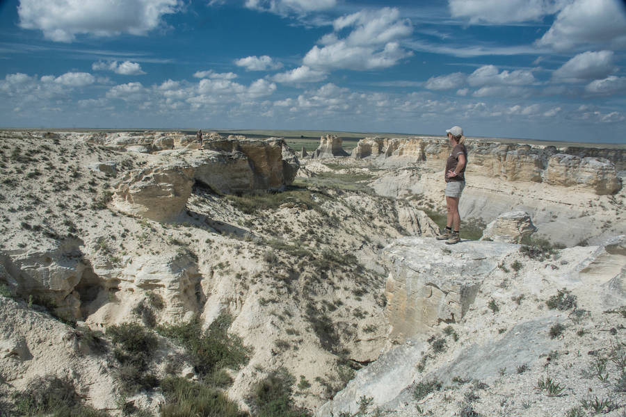 Bucket list of things to do in Kansas - see the new state park, Little Jerusalem Badlands State Park