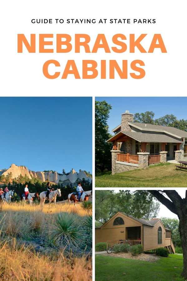 Not all state parks in Nebraska have cabins and not all cabins are equal. Here's a guide to staying at state park cabins in Nebraska. Find out what's included in a cabin and what you can do nearby at each state park.