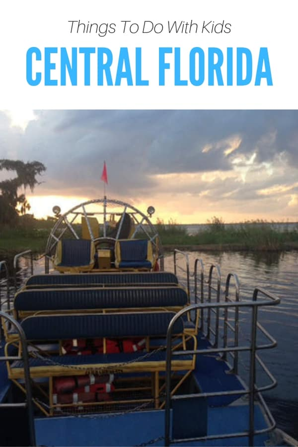 Things to do with kids in Central Florida - Adventures for family vacation include canoeing, airboat rides, kid's zip line and ropes course, and more! All activities are within driving distance of Orlando. #familytravel #outdoors #Florida