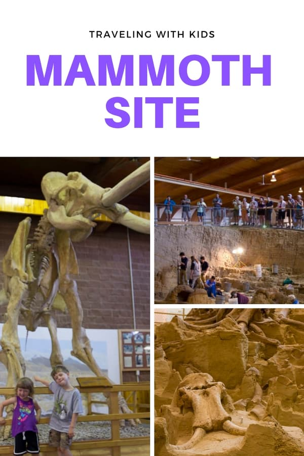Mammoth Site is one of those must-see road trip stops in South Dakota. Get details on taking kids to this active dig site in Hot Springs, South Dakota, USA.