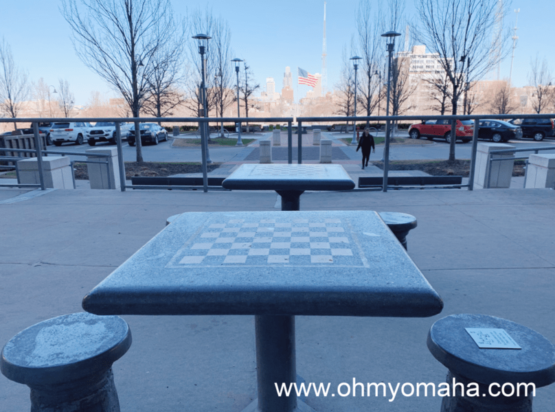 Things to do at Midtown Crossing with kids - Play chess or checkers at Turner Park