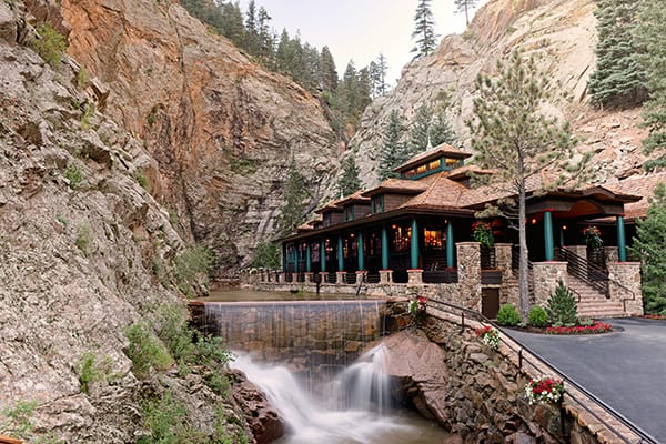 Things to do in Colorado Springs in the water - Hike to waterfalls including Broadmore Seven Falls
