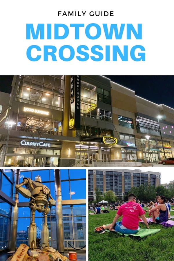 Family Guide to Midtown Crossing in Omaha - Here are the top things to do with kids at Midtown Crossing, including which restaurants have kid's menus, where to go for fun activities, and what special events you'll want to go to with the family #Nebraska #USA #family