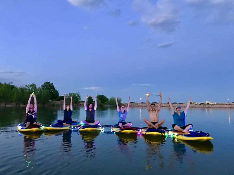 Things to do in Colorado Springs in the water - Stand-Up paddleboard and SUP yoga