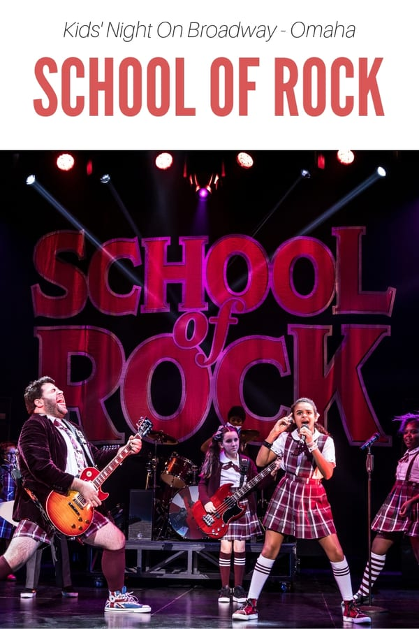 "What's Kids' Night On Broadway? Learn about this program and how families in Omaha can save money on one Broadway touring show a year - and enjoy kids' activities in the lobby. The 2019 Kids' Night On Broadway show is ""School of Rock""!"