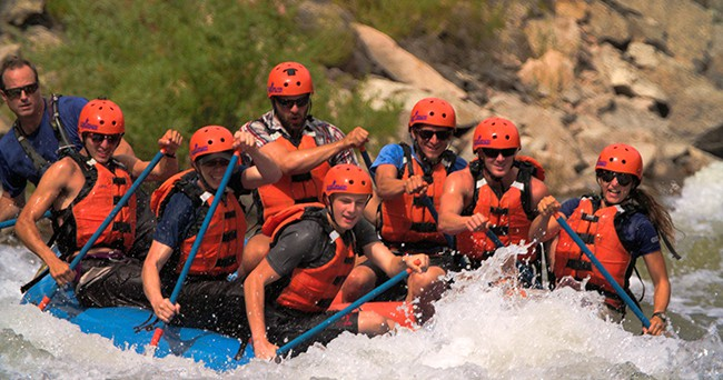 Fun things to do in the water in Colorado Springs - Whitewater rafting