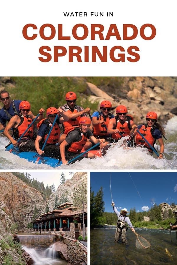 Fun things to do in Colorado Springs (in the water)! Here's a list of all the family-friendly water-based activities in Colorado Springs, including rafting, hikes to waterfall, water parks & SUP. #visitcos #pikespeakwonders #sponsored #OlympicCityUSA