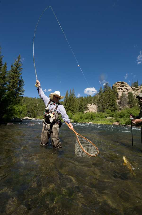 Fun water activities in Colorado Springs - There are a lot of places to fish and fly fish in Colorado Springs, Colorado