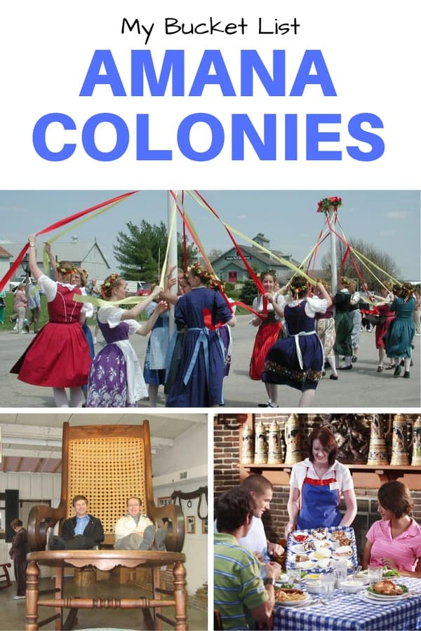 A great list of things to do, eat and see in the historic Amana Colonies in central Iowa | List includes where to shop and what to buy and what festivals to attend #Iowa #Midwest #Guide