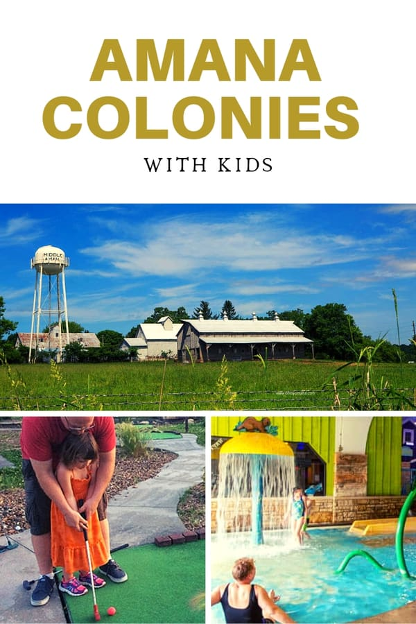 Wondering what to do with kids in Amana Colonies in Iowa? Read this post for ideas on things to do, restaurants to try, and festivals to attend. #FamilyTravel #Iowa #TravelGuide