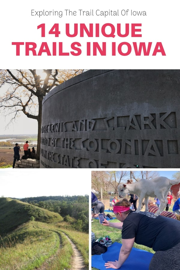 "A look at the 14 trails that have made Pottawattamie County the Trail Capital of Iowa - Trails include water ways, ""stranger things"" trail, historic trails, and one that's all about burgers and beer"