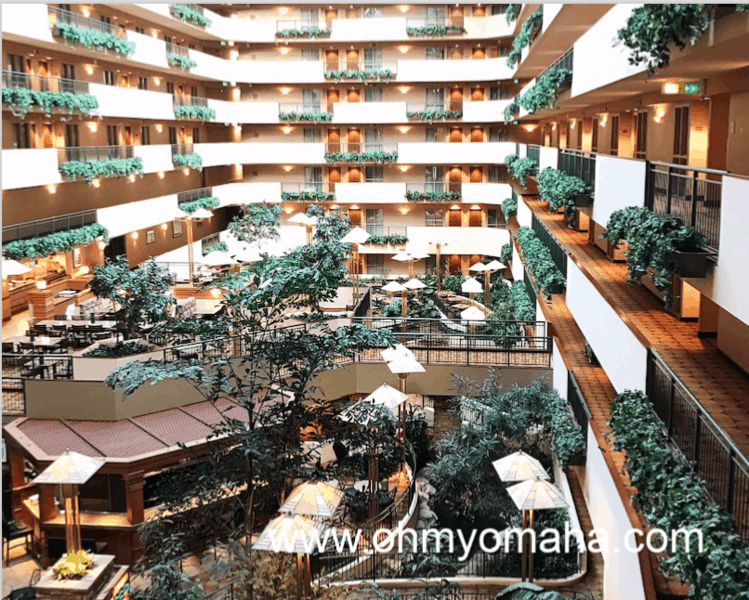 Tips for College Works Series Fans - Hotels near College World Series include an Old Market favorite, Embassy Suites. The size of the rooms, complimentary breakfast and happy hour make it popular with out of town visitors.