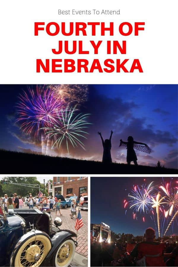 Updated list of Fourth of July celebrations in Nebraska, including fireworks displays, fun runs, parades and free concerts. Family-friendly events in Nebraska | Things to do in Nebraska this summer | Things to do on the Fourth of July in Nebraska #USA #Midwest #events