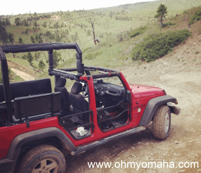 10 unforgettable experiences in Nebraska - Off-road jeep ride through Fort Robinson State Park in western Nebraska