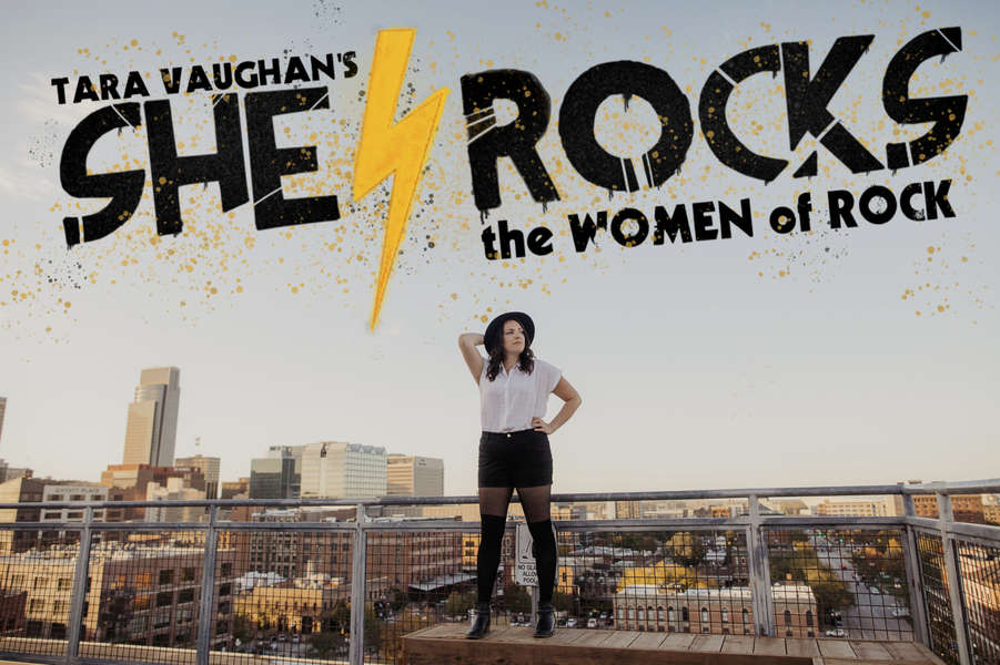 "Tara Vaughan performs ""She Rocks: The Women of Rock"" at the Omaha Community Playhouse June 13-30, 2019. She says her mother is the inspiration behind the show."