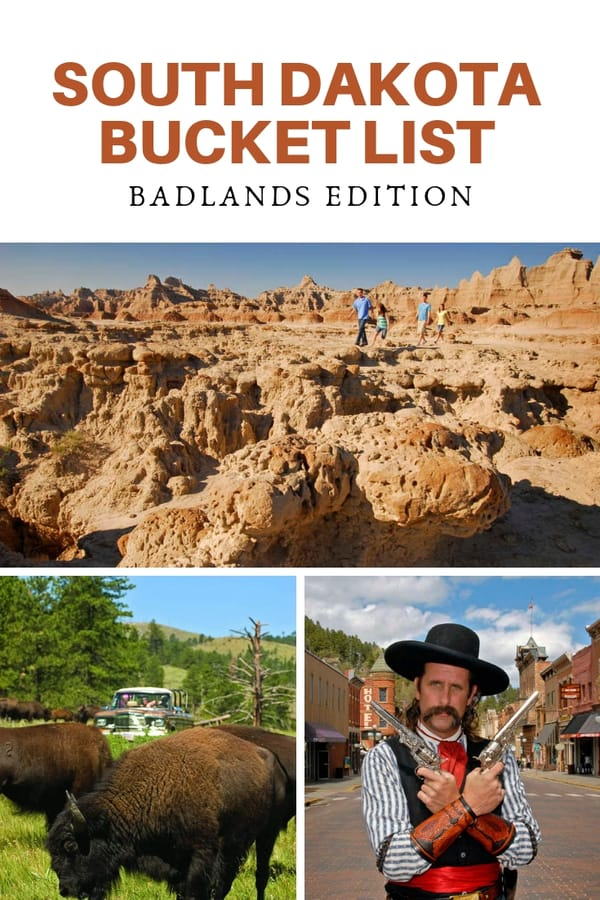 A huge list of things to do and see in South Dakota! All the places to see, things to do, and experiences to have while visiting western South Dakota and the Badlands. #bucketlist #Midwest #SouthDakota