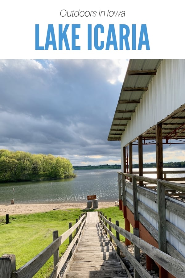 Looking for a great outdoor getaway in Iowa? Check out this family-friendly guide to Lake Icaria, a popular park for camping, boating and fishing in southwest Iowa. Get details on where to stay, what to do and what kids love best. #Midwest #Guide #FamilyTravel