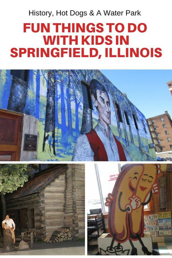 Springfield, Illinois is famous for Abraham Lincoln so read this post to find out all the fun places to take kids to learn more about the 16th president. Beyond history, get the scoop on drive in movie theaters, a water park, and family-friendly restaurants. #Guide #Springfield #Illinois #USA #familytravel